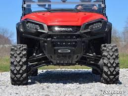 honda 1000 honda pioneer 1000 1 5 u2033 forward offset high clearance a arms