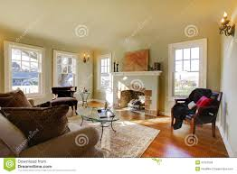 Beautiful Living Rooms Beautiful Living Room With Old Fireplace Stock Photo Image