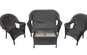 Art Van Clearance Patio Furniture by Gray Wicker Outdoor Furniture Wayfair