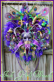 mardi gras wreaths girl s wreaths where the difference is in the details