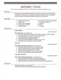 Clerical Resumes Examples by Clerical Assistant U003ca Href U003d