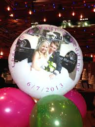 stylish events wedding floato personalised balloon milton keynes