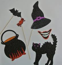 Halloween Photo Booth Props 32 Best Halloween Photo Booth Props Images On Pinterest