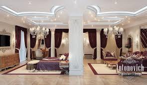 master bedroom from luxury antonovich design on behance