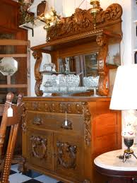 Oak Buffet And Hutch by Stunning French Antique Gothic Tiger Oak Buffet With Heavily