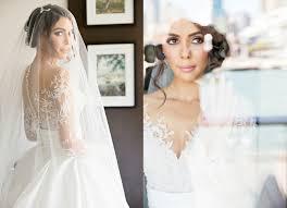 2017 new full lace split wedding dresses illusion back bridal