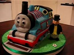 train thomas the tank engine fondant cake youtube
