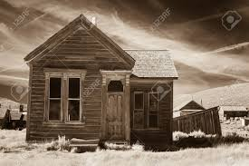 rustic old house in sepia tone stock photo picture and royalty
