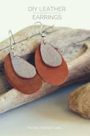 earrings diy diy leather earrings teodoro