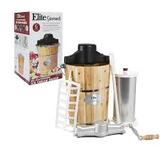 amazon com elite gourmet eim 506 6 quart old fashioned ice cream