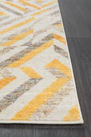Yellow Runner Rug Modern Runner Rugs Brilliant Rug Culture Dimensions Divinity Slant