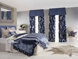 White Bedroom Curtains by Navy And White Bedroom Curtains White Bedroom