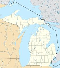 Midland Zip Code Map by Waterford Township Michigan Wikipedia