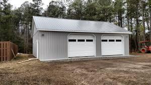 Superior Overhead Door by 34x40x10 Residential Garage In Prince George Va Rdj14034