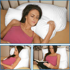 pillow for watching tv in bed amazon com deluxe comfort multi position pillow therapeutic
