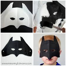 Free Printable Halloween Mask Templates by Superhero Paper Plate Masks Superhero Masking And Craft