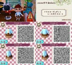 356 best acnl qr codes robes images on pinterest clothing