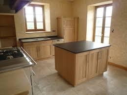 ilot cuisine bois massif casanave meubles sur mesure en bois massif îlots de cuisine