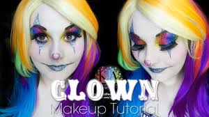 Halloween Makeup Clown Faces by Sparkly Clown Halloween Makeup Tutorial Youtube