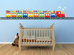 baby nursery baby boy wall decals for nursery train wall sticker