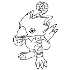 10 lovely free printable digimon coloring pages