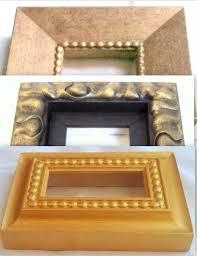 cornici fatte a mano promozione n 3 cornici cornicette barocco in legno fatte a mano