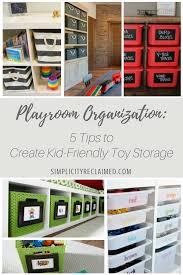 playroom organization 5 tips to create kid friendly toy storage