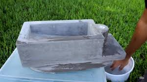 how to build a concrete sink diy concrete sink over toilet tank utilizes waste water at homes