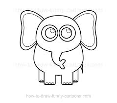 coloring appealing pictures draw elephant 007