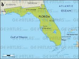 Cities In Florida Map by Geoatlas Us States Florida Map City Illustrator Fully