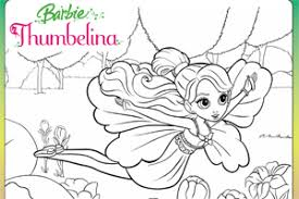 thumbelina movie coloring pages keywords pictures