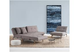 innovation splitback sofa sofa bed 2 chairs in mixed grey contemporary furniture