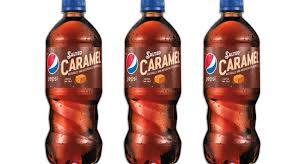 pepsi is rolling out salted caramel flavored soda for the holidays