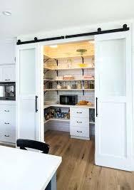 kitchen pantry door ideas pantry door ideas view in gallery aqua door in rustic kitchen cool