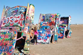 cadillac ranch carolina route 66 attractions cadillac ranch amarillo tx the tv traveler