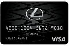lexus card lexus financial services lexus pursuits visa card