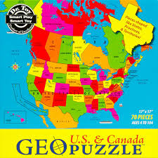 map of canada puzzle 70 geopuzzle usa and canada puzzle becky me toys