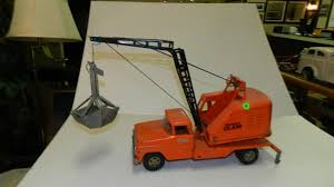 tonka fire rescue truck metal tonka toy mobile clam crane truck crane