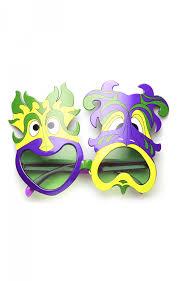 mardi gras glasses mardi gras party happy sad smile now cry later novelty sunglasses