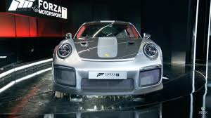 the 2018 porsche 911 gt2 rs is supercar star of forza 7 on xbox