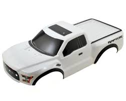 Ford Raptor Truck Bed Mat - 2017 ford raptor pre painted short course body white by traxxas