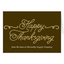 corporate thanksgiving cards invitations greeting photo cards