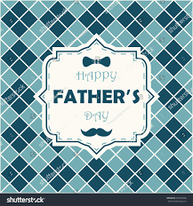 happy fathers day greeting card dad stock vector 650478436