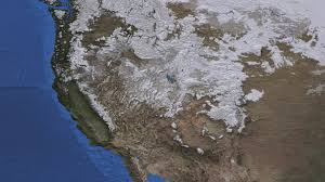 United States Snow Cover Map by Svs North America Snow Cover 2009 2012