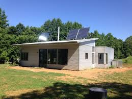 off grid air conditioning a modern prefab house on minimal solar