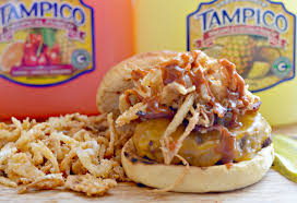 tampicoiscolor com all american burger with crispy onion strings