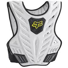 motocross gear gold coast fox racing new mx titan sport subframe silver padded vest