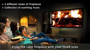 amazon com calm fireplace tv appstore for android