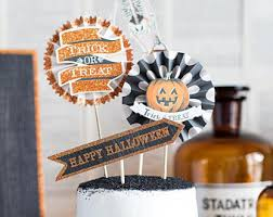 Vintage Halloween Decorations Halloween Decorations Mini Pumpkin Banner Jack O Lantern
