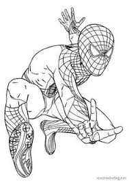 awesome spiderman coloring pages colouring pages children